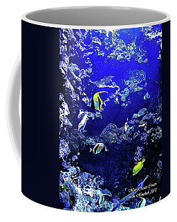 Hiding Fish Coffee Mug by Joan  Minchak