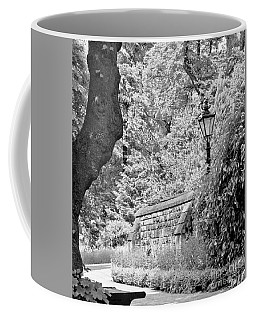 Hiding In Black And White. Coffee Mug
