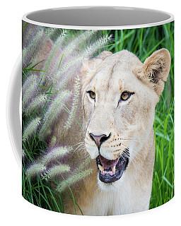 Hiding In Grass Coffee Mug