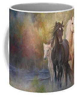 Hiding In The Mist Coffee Mug
