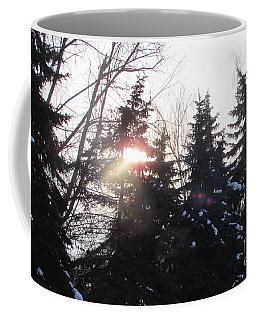Hiding Sun Coffee Mug