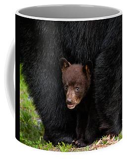 Hiding Under Mom Coffee Mug