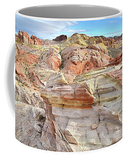 High Above Valley Of Fire Coffee Mug