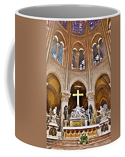 High Alter Notre Dame Cathedral Paris France Coffee Mug