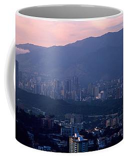 High Angle View Of A City, Caracas Coffee Mug