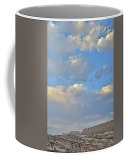 High Clouds Over Caineville Wash Coffee Mug