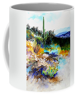 High Desert Scene Coffee Mug