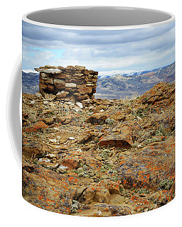 High Desert Cairn Coffee Mug