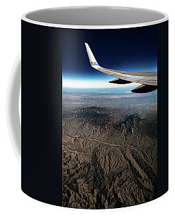 High Desert From High Above Coffee Mug