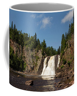 High Falls At Tettegouche State Park Coffee Mug