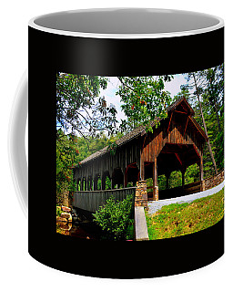 High Falls Covered Bridge Coffee Mug