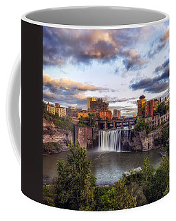 Coffee Mug featuring the photograph High Falls Crop by Mark Papke