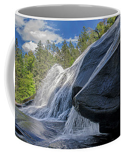 Coffee Mug featuring the photograph High Falls One by Steven Richardson