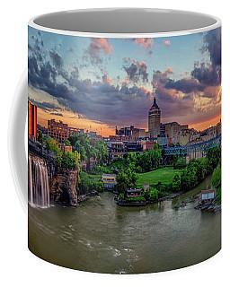 High Falls Panorama Coffee Mug