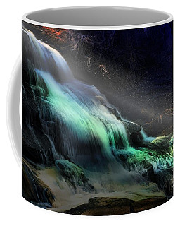 High Falls Sunset Coffee Mug