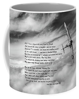 High Flight Spitfire Solo Coffee Mug