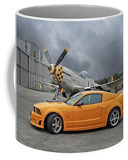 High Flyers - Mustang And P51 Coffee Mug