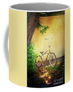 Coffee Mug featuring the photograph High Handle-bar Bicycle by Craig J Satterlee