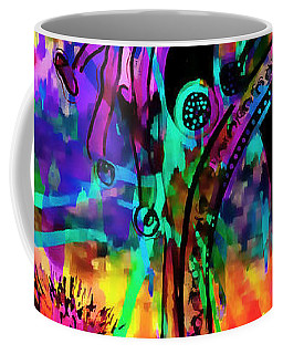 High Heel Heaven Abstract Coffee Mug
