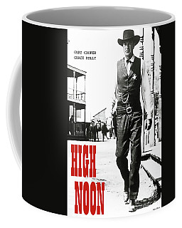 High Noon, Gary Cooper Coffee Mug
