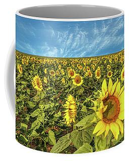 High Plains Sunflowers Coffee Mug