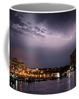 High Point Place Nights Coffee Mug by Quinn Sedam