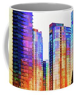 High Rise Abstract Coffee Mug