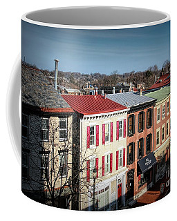 High Street In Historic Downtown West Chester, Pennsylvania Coffee Mug