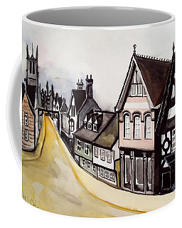 High Street Of Stamford In England Coffee Mug