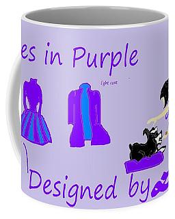 High Style Fashion, Dresses In Purple Coffee Mug