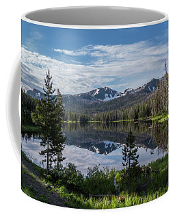 High Summer At Sylvan Lake Coffee Mug