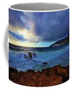 High Tide At Pray For Sex Beach Coffee Mug by Craig Wood