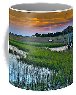 High Tide On The Creek - Mt. Pleasant Sc Coffee Mug