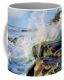 High Tide On The Rocks Coffee Mug