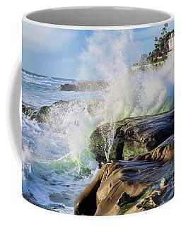 High Tide On The Rocks Coffee Mug