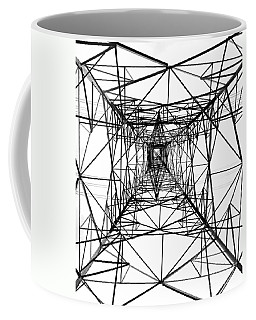 High Voltage Power Mast Coffee Mug
