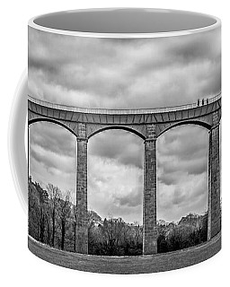 Coffee Mug featuring the photograph Sky Walkers by Nick Bywater