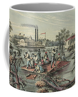 High Water On The Mississippi, 1868  Coffee Mug