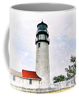 Highland Lighthouse Cape Cod Coffee Mug by Marianne Campolongo