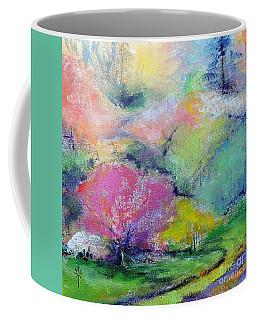 Highland Park In Spring Coffee Mug
