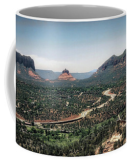 Highway In The Wind Coffee Mug by Jim Hill