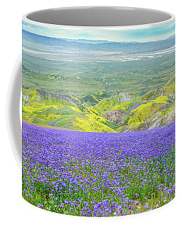 Hike To The Top Of Temblor Range Coffee Mug by Marc Crumpler