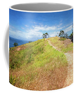 Hike To Whaler's Point Great Barrier Island New Zealand Coffee Mug