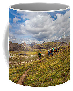 Hiking At 13,000 Feet Coffee Mug
