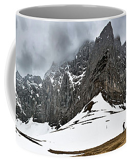 Hiking In The Alps Coffee Mug
