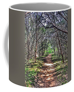 Hiking Meridian State Park  Coffee Mug