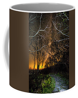 Hiking The Milky Way Coffee Mug