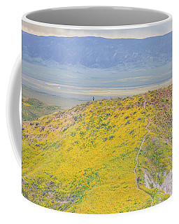 Hiking The Temblor Coffee Mug