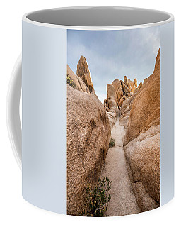 Hiking Trail In Joshua Tree National Park Coffee Mug