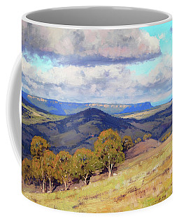 Hill Shadows Kanimbla  Coffee Mug